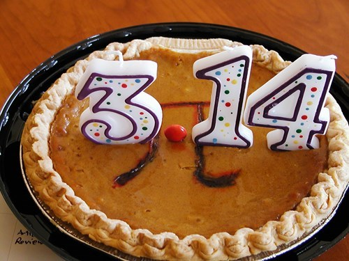 the pie of pumpkin pi