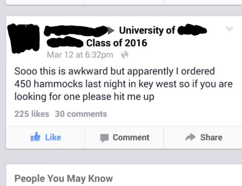 funny-facebook-fails-hammock-purhcase