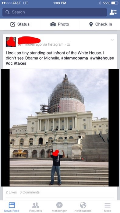 funny-facebook-fails-travel-white-house-DC