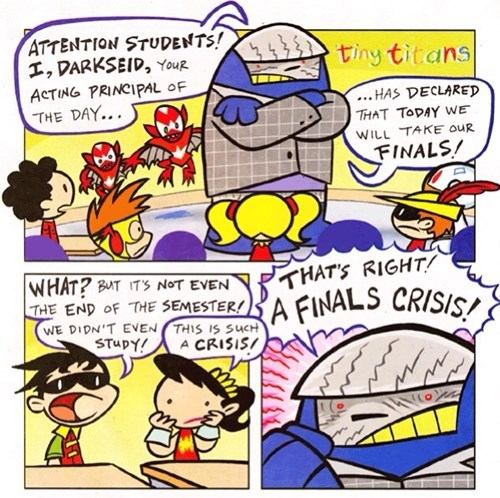 finals teen titans Straight off the Page darkseif - 8462271488