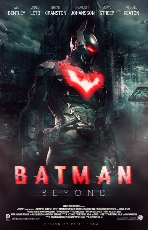 batman beyond,fan made,poster,batman