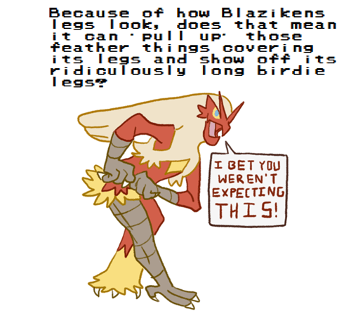 Pokémon blaziken cannot unsee - 8462656256