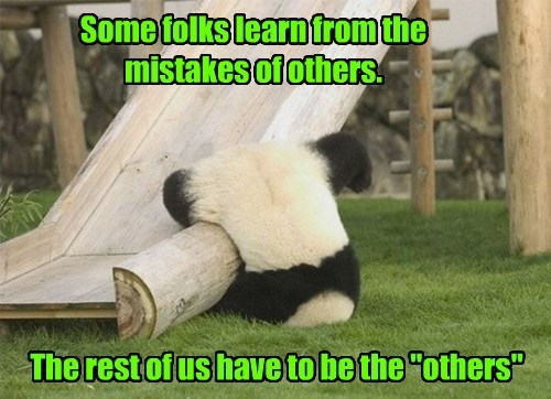 ouch panda whoops FAIL true story