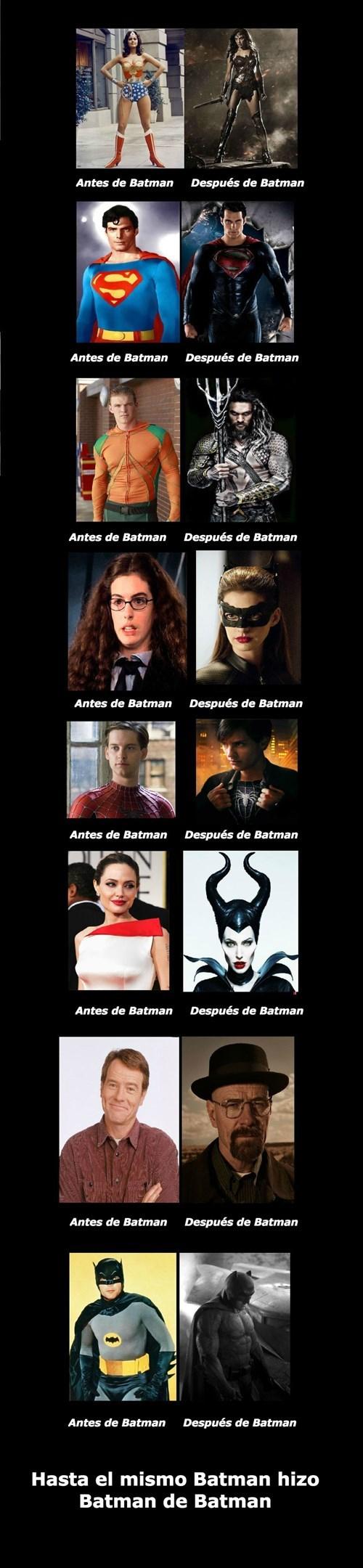 Batman es un loquillo