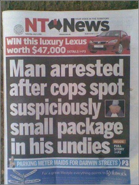 that must have been a very small package