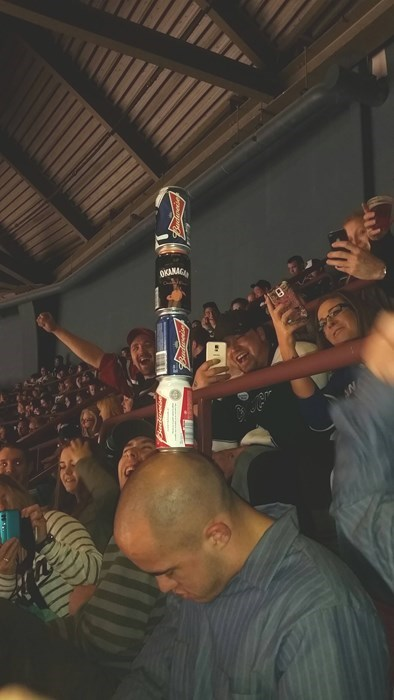 don't get too drunk at hockey games.