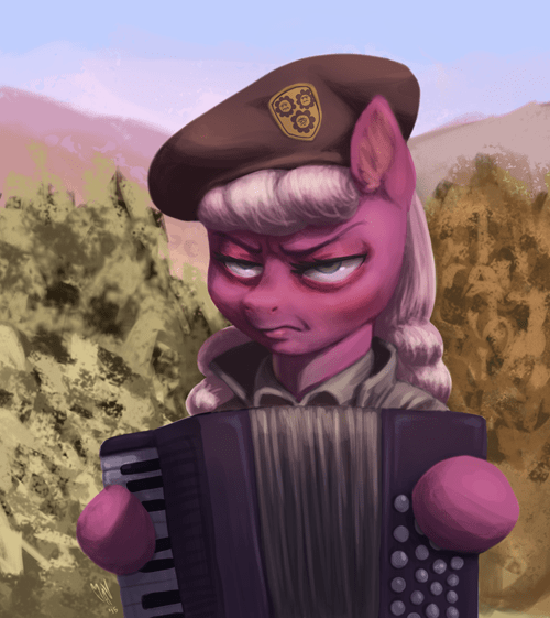 Fan Art accordian MLP - 8463088896