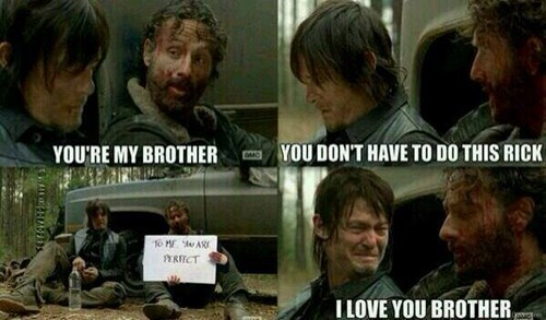 funny-walking-dead-rick-grimes-daryl-dixon-meme-love-brother