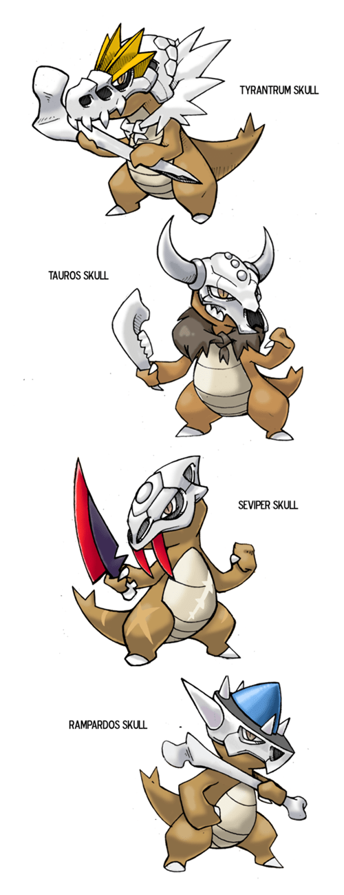 Pokémon marowak pokemon variations - 8463288832
