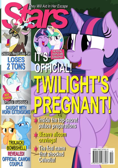 pregnancy,twilight sparkle,Fan Art,magazines