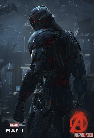 Marvel releases new Avengers: Age of Ultron poster showing actual Ultron.