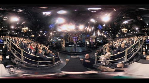 NBC recorded Saturday Night Live's 40th Anniversary special for Virtual Reality. Prepare your face.