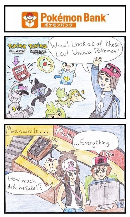 thieves Pokémon pokemon bank web comics - 8463471104