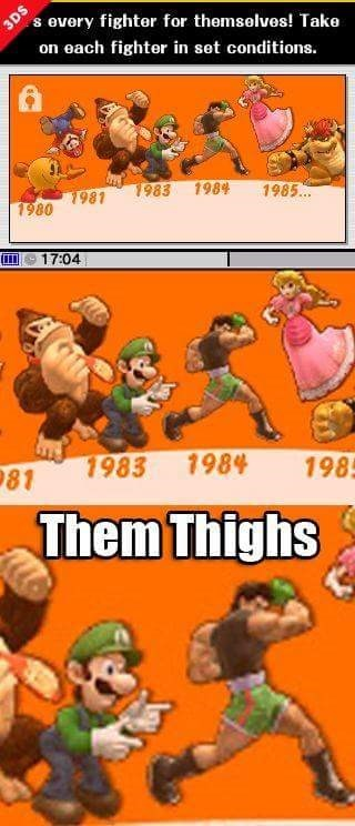 super smash bros,little mac,luigi