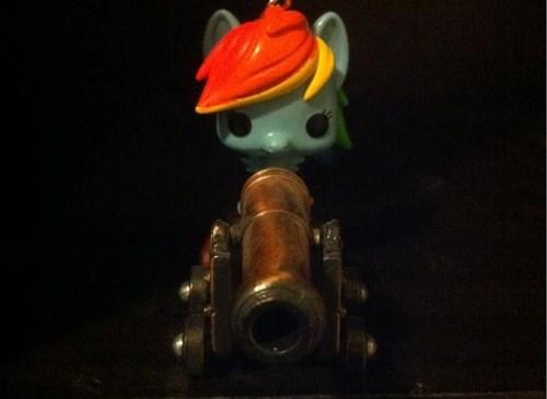 cannon,rainbow dash