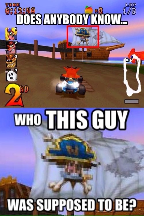 crash bandicoot crash team racing - 8463731456