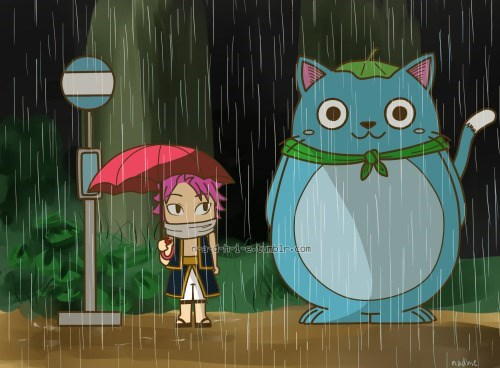 fairy tail totoro crossover