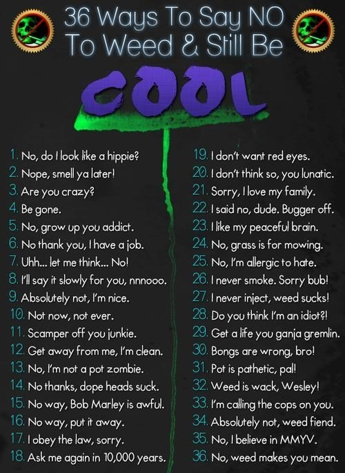 drugs aren't cool, but this is.
