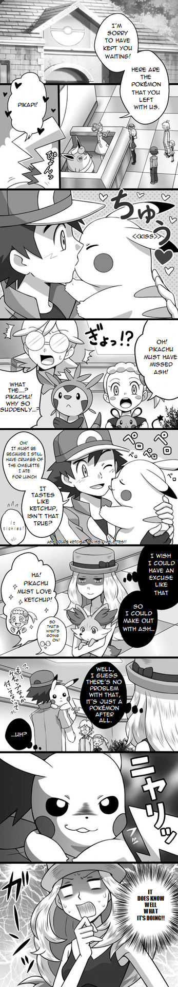 Pokémon wtf creepy pikachu serena - 8464055808