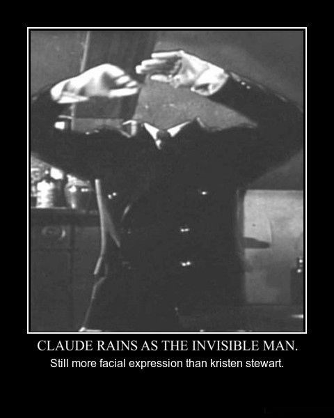 claude rains invisible man funny - 8464216320