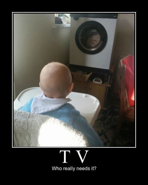 dryer,baby,TV,idiots,funny