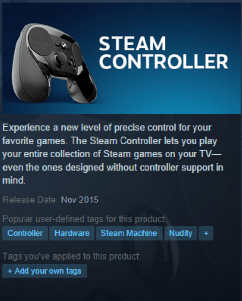 controller hardware steam machine nudity - 8464238848