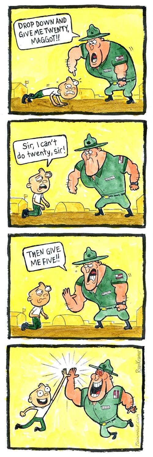 funny-web-comics-the-army-has-changed-its-training-methodology