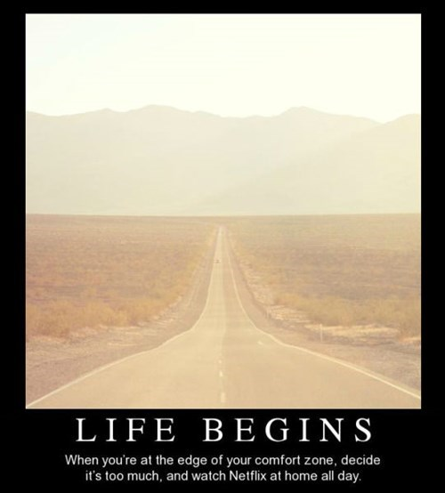 life funny comfort zone - 8464493056