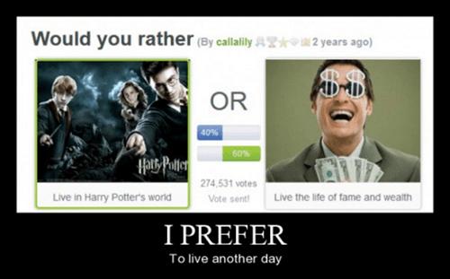 Harry Potter funny rich Hogwarts - 8464493568