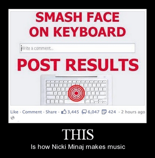 Music nicki minaj songs keyboard funny - 8464493824
