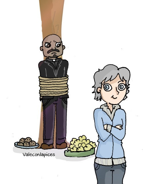 funny-walking-dead-carol-gabriel-tree-cookies-threat-drawing