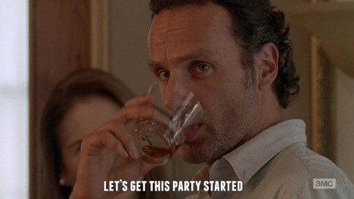 funny-walking-dead-rick-grimes-party-started
