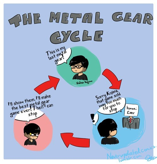 sad but true video games metal gear web comics - 8464603904
