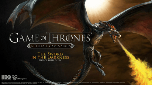 video game news telltale game of thrones episode 3 dragons