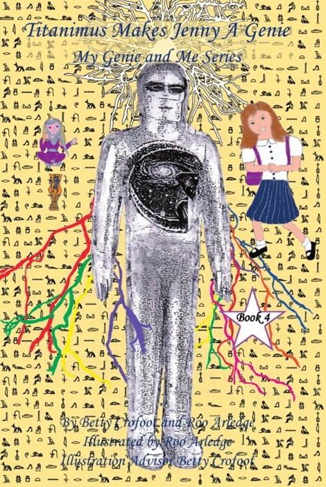 Text - AAA . Fitanimus Makes Jenny A Genie A My Genie and Me Series e A e A A Sa Book 4 A e AeA A lstrated by Roo Aledge ln i saignduis BettyCrofo J aa D 3 4 a3 34 1 4 3 4 34 A 34 34 e4 4 1S a