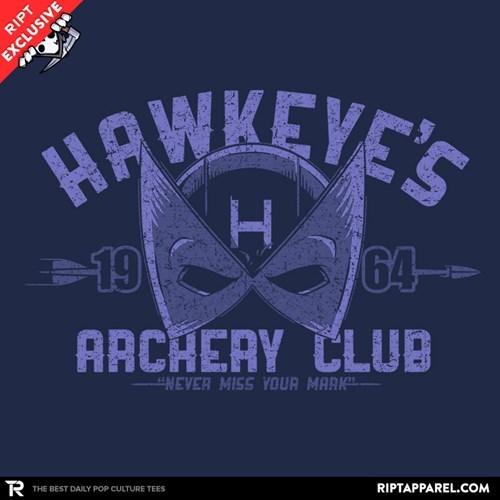 tshirts hawkeye archery - 8465104384