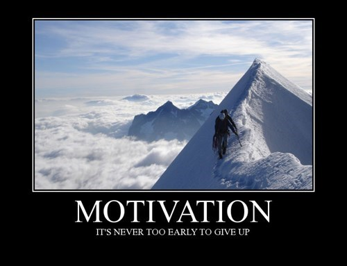 motivation give up funny - 8465155328