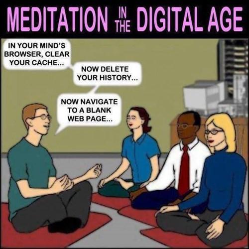 computers meditation web comics - 8465190400