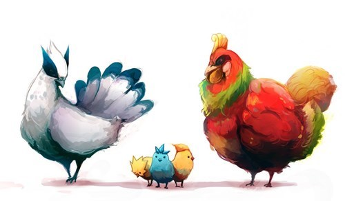 pokemon memes fan art legendary chickens
