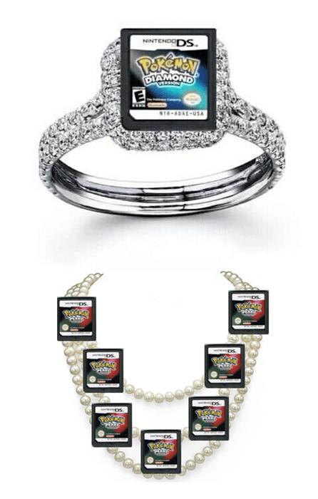 pokemon memes diamond ring pearl necklace