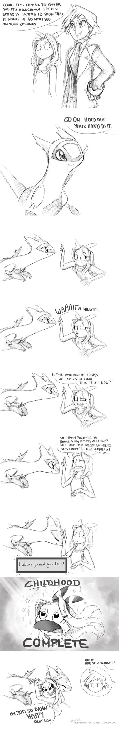 latias Fan Art gen 3 web comics - 8465686784