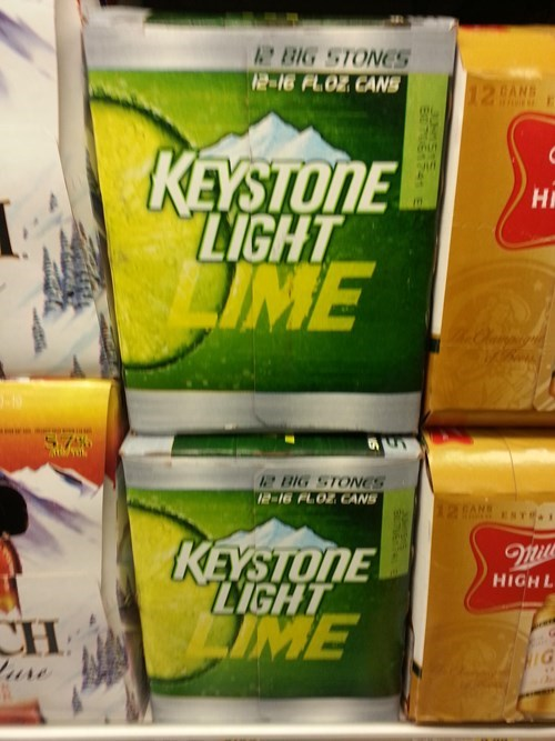 keystone light is horrible