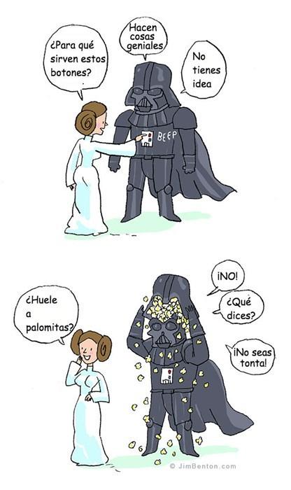 Princesa Leia loquilla