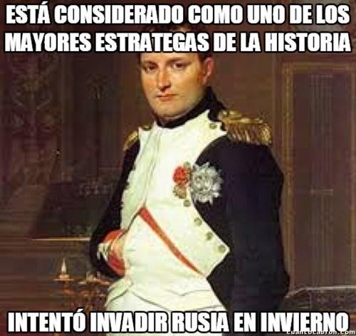 napoleon es un genio