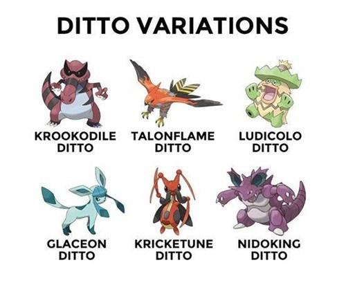 ditto pokemon variations - 8466589696