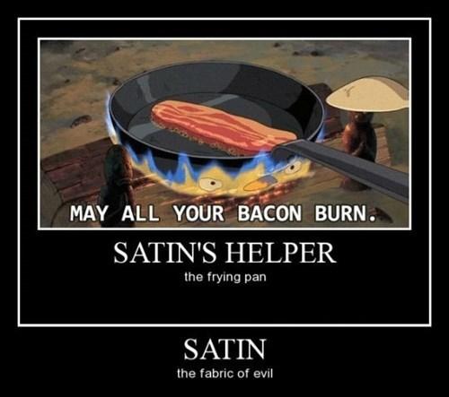 satin funny bacon - 8466670336