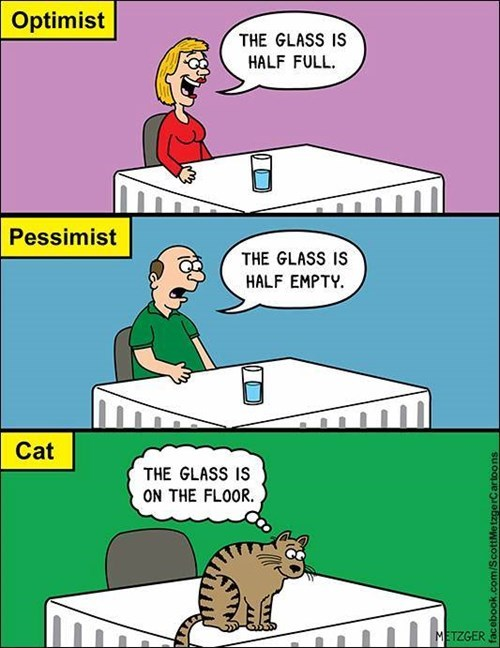 Optimists vs. Pessimists