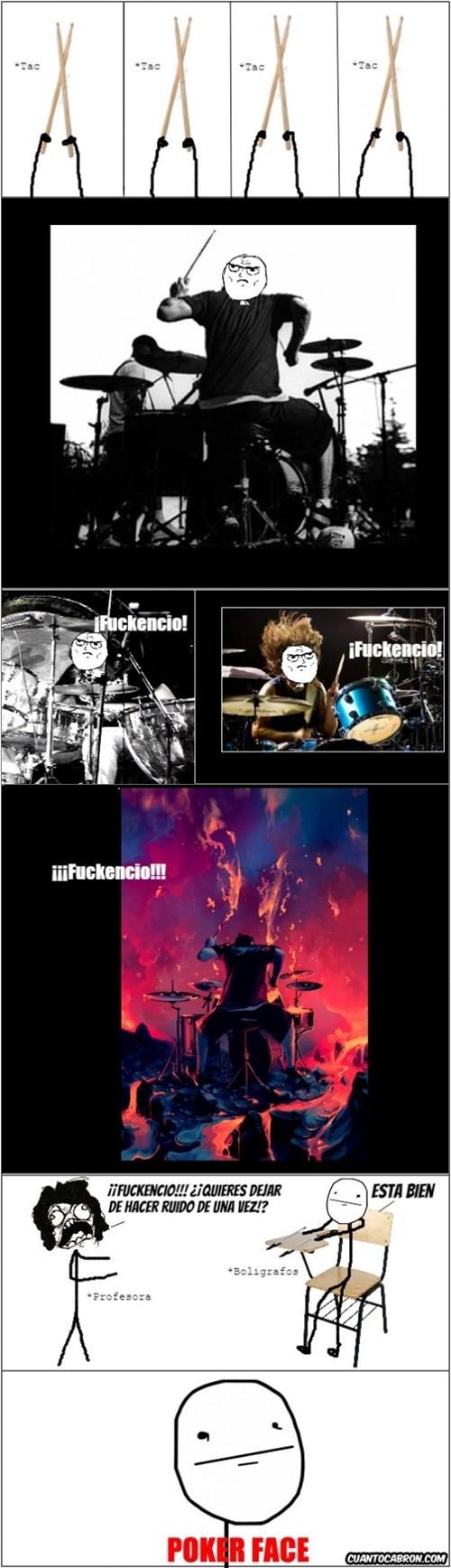 sacas el baterista que llevas dentro