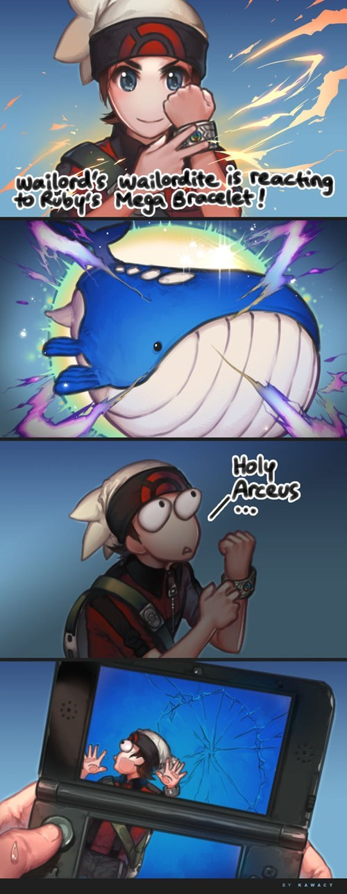 wailord,Fan Art,mega wailord,web comics