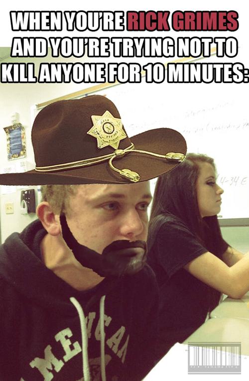 Rick Grimes iron will killer - 8466991872